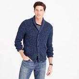 J.Crew Cotton mariner shawl-collar cardigan sweater