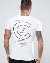 Crosshatch Logo Back Print T-shirt