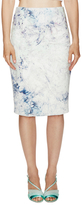Hunter Bell Billy Printed Pencil Skirt