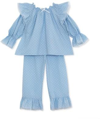 Amiki Nina Ruffle Pyjama Set (2-12 Years)