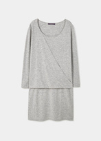 Violeta BY MANGO Modal Wool-Blend Dress
