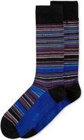 Alfani Men's Variegated-Stripe Socks, Created for Macy's