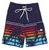 Snapper Rock Little Boy's & Boy's Sunset Board Shorts