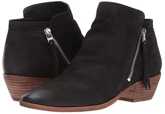 Sam Edelman Packer (Putty Waxy Nubuck Leather) Women's Zip Boots