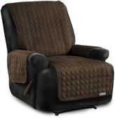 Quick Cover® for Leather Premium Waterproof Quilted Microsuede Recliner Cover