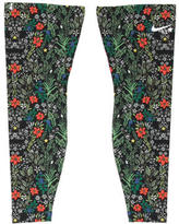 Nike Floral Print Leg Warmers