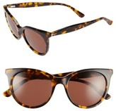 Ted Baker Women's 51Mm Cat Eye Sunglasses - Black