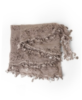 Crocheted Lacy Scarf
