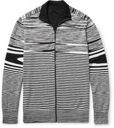Missoni - Slim-fit Reversible Cotton, Cashmere And Silk-blend Zip-up Cardigan