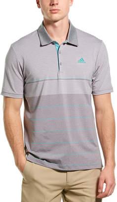 adidas Golf Ultimate Gradient Stripe Polo