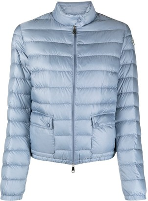 Moncler Cropped Quilted Zipped Jacket