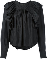 Isabel Marant Arlington blouse - women - Silk/Cotton/Polyamide - 34