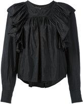 Isabel Marant Arlington blouse - women - Silk/Cotton/Polyamide - 36