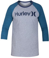 Hurley Regular-Fit Colorblock Raglan Tee