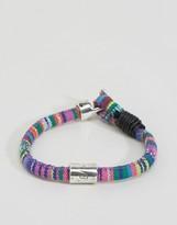 ICON BRAND Geo-Tribal Woven Bracelet