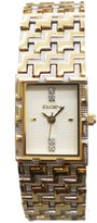 Elgin Women's Watch With Cream Color Dial & Crystals EGC013