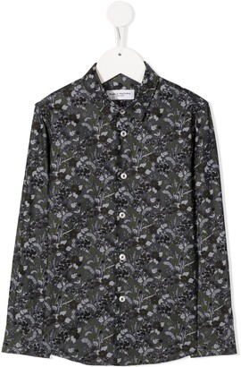 Paolo Pecora Kids Floral Long-Sleeve Shirt