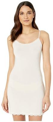 Jockey No Panty Line Promise Tactel Lace Chemise (Sheer Nude) Women's Underwear