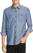 Michael Bastian Chambray Regular Fit Button-Down Shirt