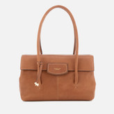 Radley Women's Burnham Beeches Large Fold Over Shoulder Bag - Cognac