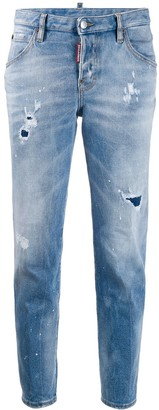 DSQUARED2 Distressed Tapered Jeans