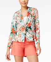 XOXO Juniors' Floral-Print Blazer