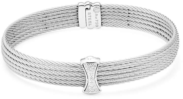 Alor Women's Classique Multi-Row Pave Diamond Bangle