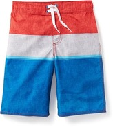 Old Navy Striped Board Shorts for Boys