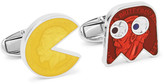 Paul Smith Pac-Man Enamelled Silver-Tone Cufflinks