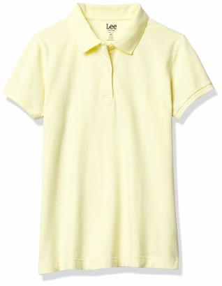 Lee Uniforms Junior's Short Sleeve Stretch Pique Polo Shirt