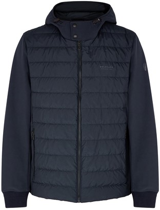 Belstaff Nevis navy quilted shell jacket