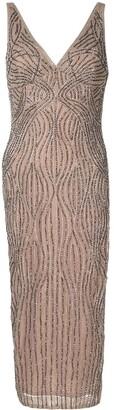 Rachel Gilbert Arna bead embellished dress