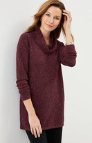 J. Jill Ultrasoft Cowl-Neck Tunic Sweater