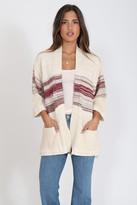 Goddis Myles Cardigan In Cinnamon Kiss