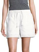 Saks Fifth Avenue Front-Tie Linen Shorts