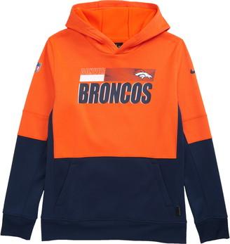 Nike Dri-FIT Therma NFL Logo Denver Broncos Hoodie