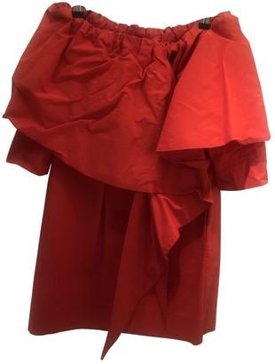 Isa Arfen Red Cotton Dresses