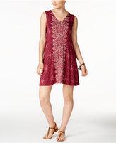Style&Co. Style & Co Crisscross-Back Dress, Only at Macy's