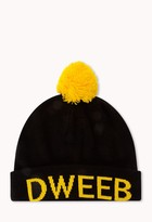 Forever 21 Dweeb for Life Beanie