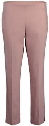 Brunello Cucinelli Blossom Cotton Twill Side Zip Pant