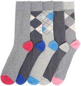 Howick 5 Pack Argyle Socks