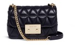Michael Kors 'Sloan' small quilted lambskin leather chain crossbody bag