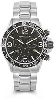Torgoen Pilot T35 Series T35201 45.5mm Stainless Steel Case Steel Bracelet Mineral Men's Watch
