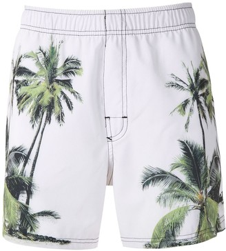 OSKLEN Coqueiro Classic print shorts