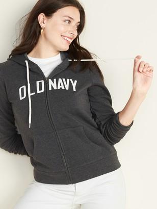 Old Navy Logo-Graphic Zip Hoodie for Women
