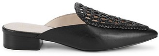 Cole Haan Payson Woven Leather Mules