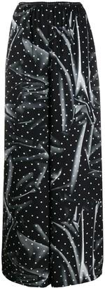 MM6 MAISON MARGIELA Polka-Dots Pyjama-Style Trousers