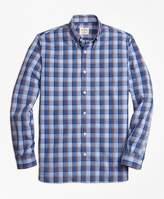 Brooks Brothers Plaid Broadcloth Sport Shirt