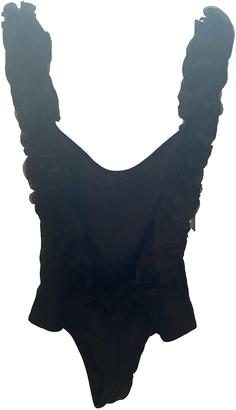 La Reveche Black Lycra Swimwear for Women