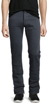 Jacob Cohen Straight-Leg Stretch-Denim Jeans, Gray